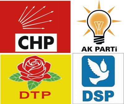 Partilerin Belediye Başkan, İl Genel ve Meclis üyeleri belli oldu