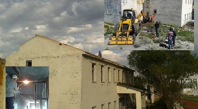 Hanak Kapalı Cezaevi fabrikaya dönüyor