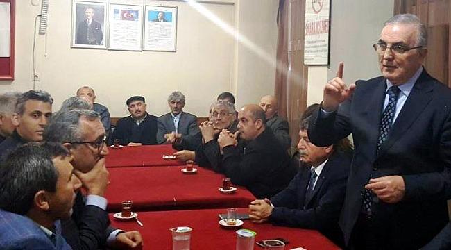 CHP'li Ensar Öğüt hayır için sahada