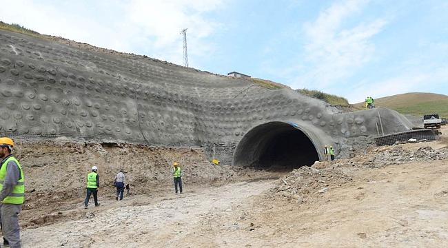 Tünel, 29 Ekim 20019'da tamamlanacak