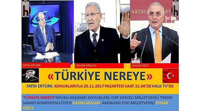 CHP'li Öğüt, Halk TV'de ithal et ve hayvancılığı anlatacak
