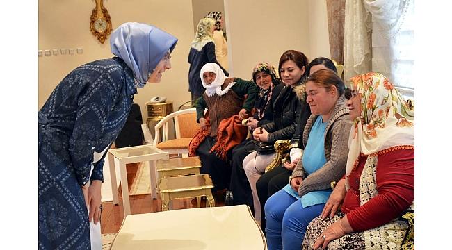 Konakta Şehit ve Gazi Aileleri ağırlandı