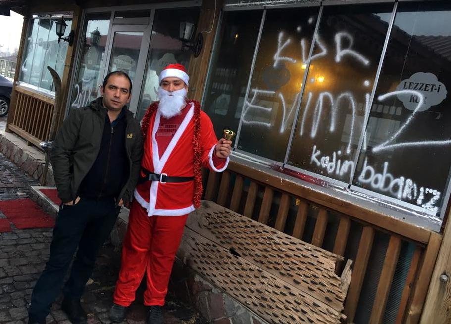 Noel Baba Lezzet-i Kür'de