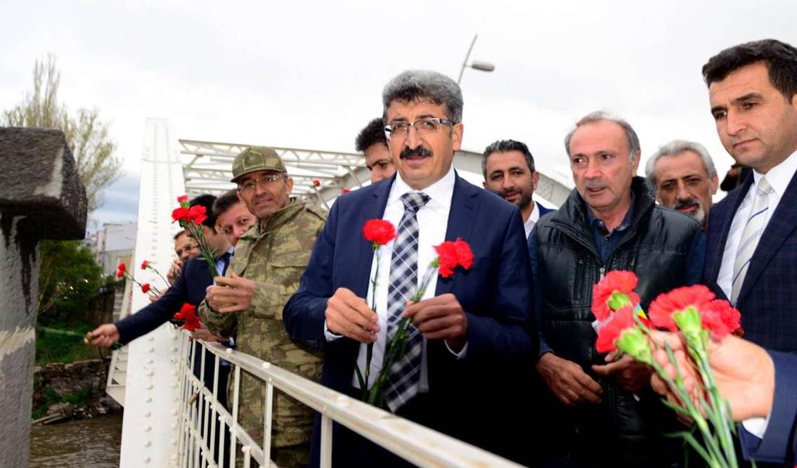 Ardahan'da 93 Harbi şehitleri unutulmadı