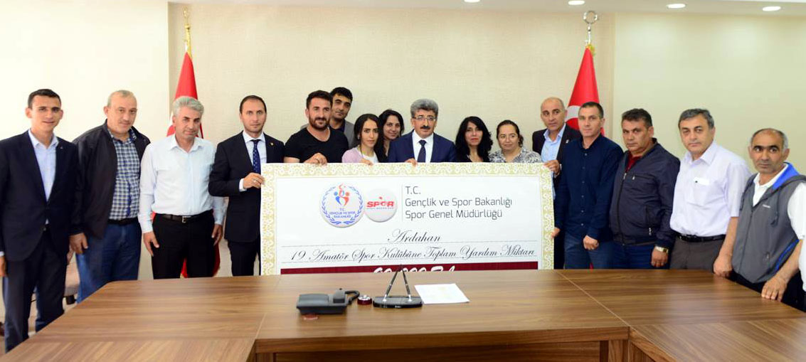 19 Kulübe 90 bin lira nakdi destek