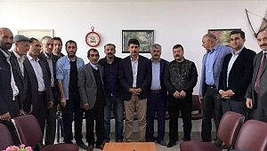 Atalay ve ekibinden Federasyona ziyaret
