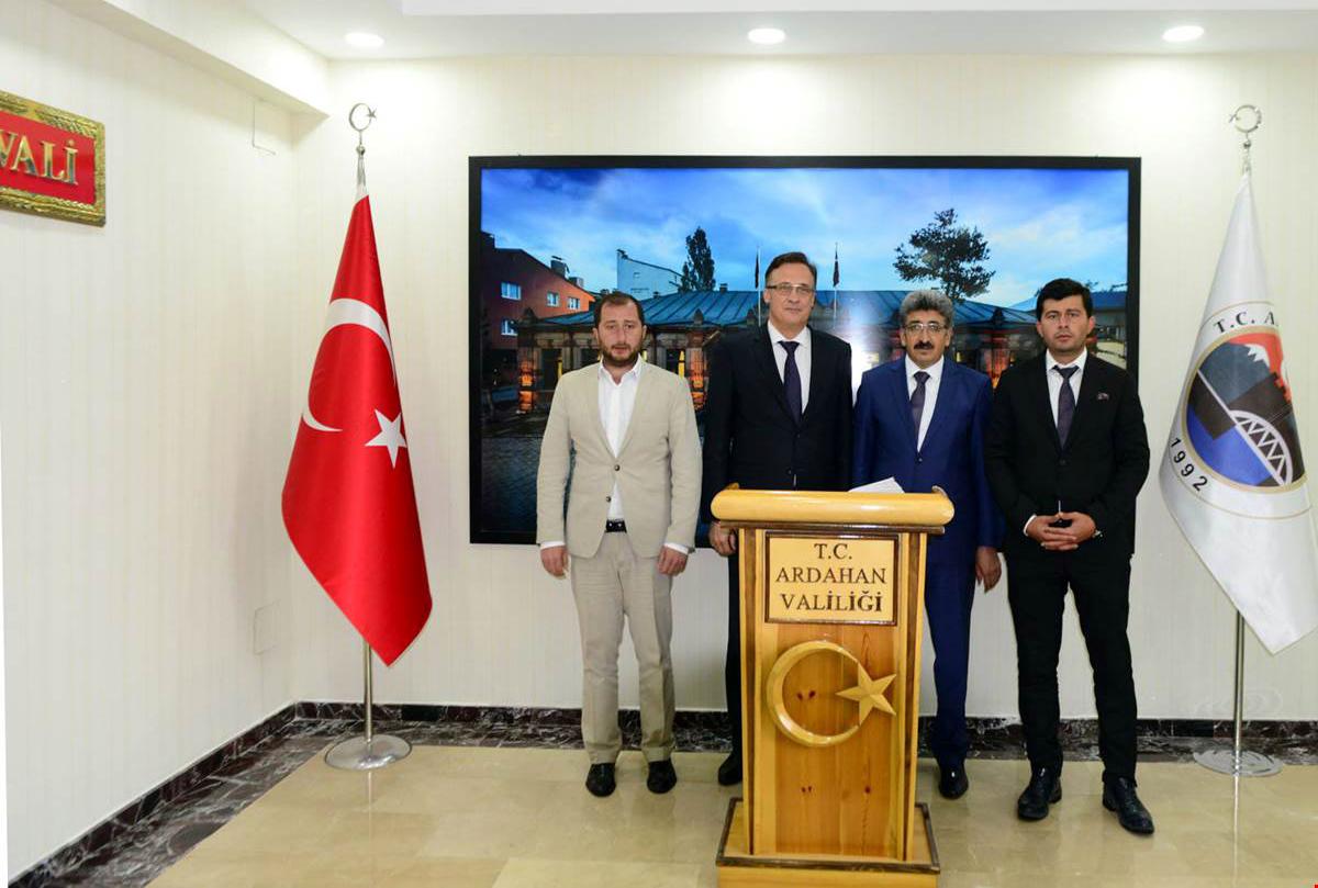 Belarus Büyükelçisi Ardahan'da