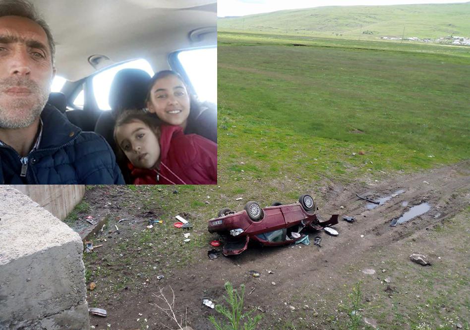 Göle yolunda üzücü kaza, 1 ölü