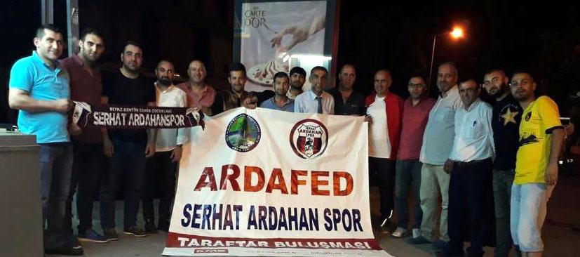 Serhat Ardahan Spor için İstanbul'da bir araya geldiler