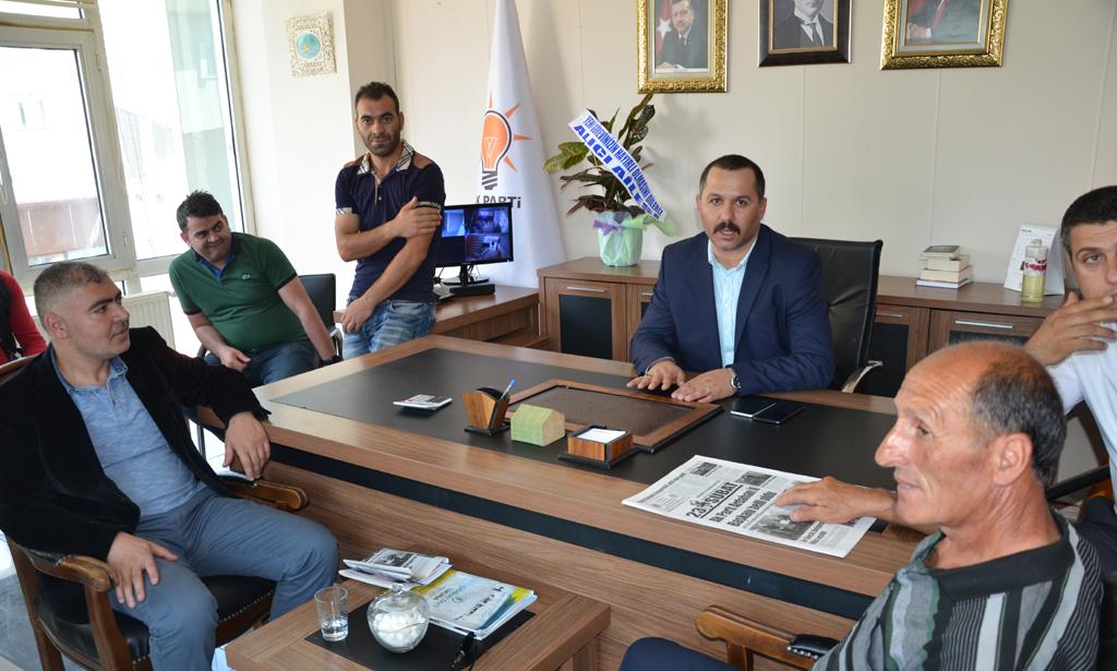 AK Parti İl Başkanına sıcak karşılama