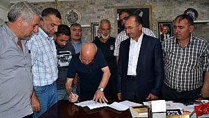 Serhat Ardahan'da ön protokol imzalandı