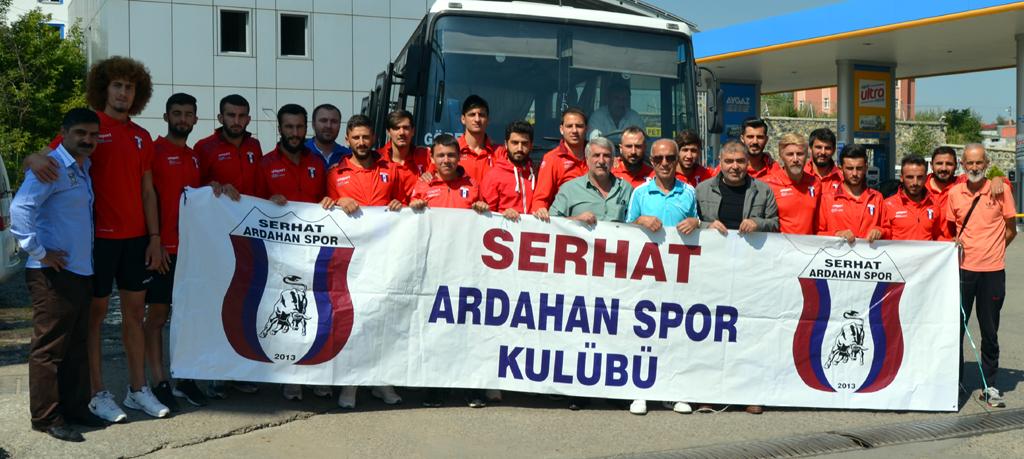 Serhat Ardahan Spor, ilk hazırlık maçında