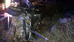Ardahan'da trafik kazası: 1 ölü