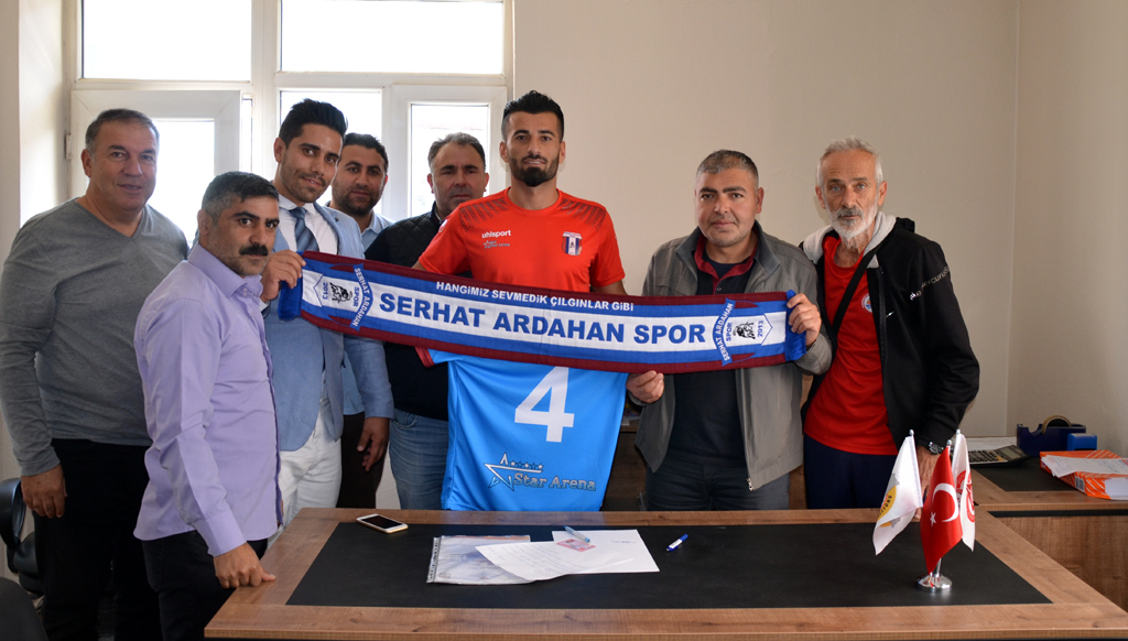Serhat Ardahan Spor'a İranlı stoper