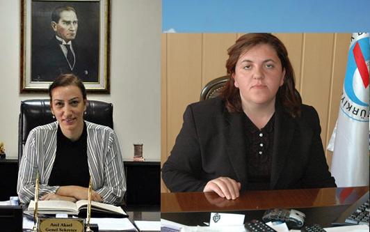 Ardahan'da iki başarılı kadın yönetici