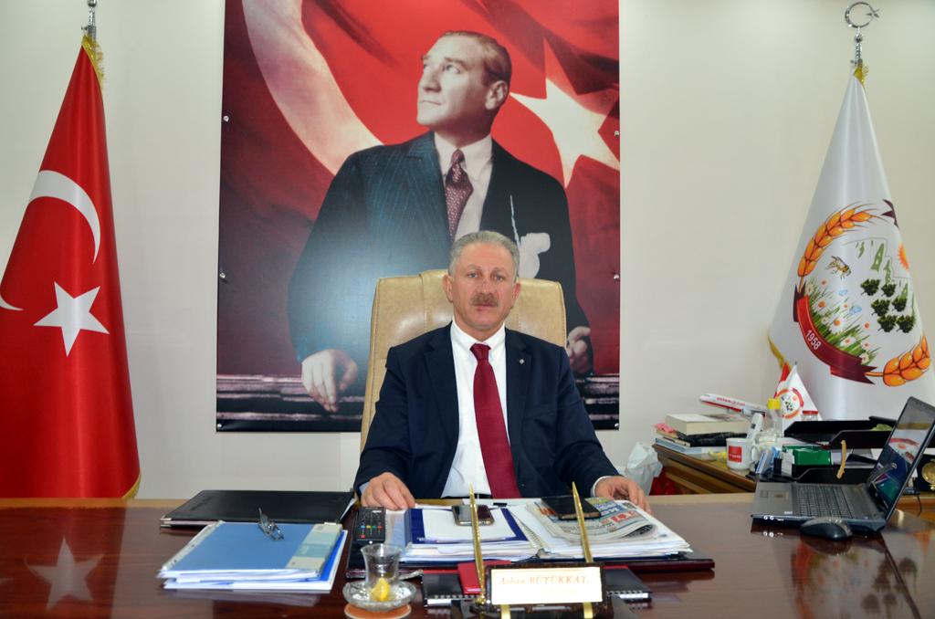Başkan Büyükkaya'nın 29 Ekim Cumhuriyet Bayramı Mesajı