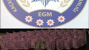 12 Bin TL sahte banknot ele geçirildi