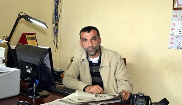 Gazeteci Fakir Yılmaz, trafik kazası geçirdi