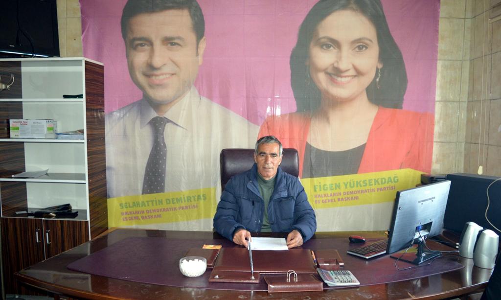 HDP İl Başkanı Koç'tan 4 Kasım açıklaması