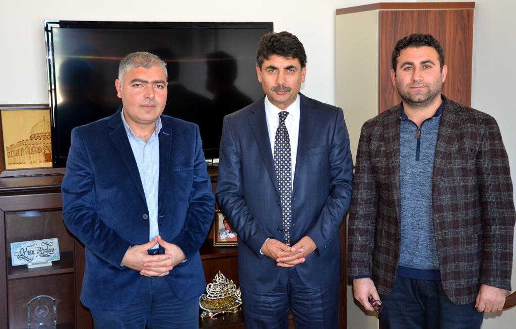 Orhan Atalay'dan gazetecilere özel açıklamalar