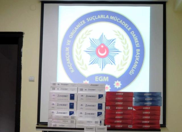Ardahan'da Kaçak Sigara Operasyonu