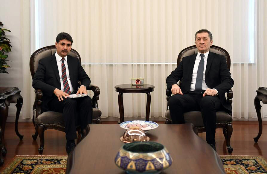 Atalay, Bakan Selçuk'a talepleri iletti