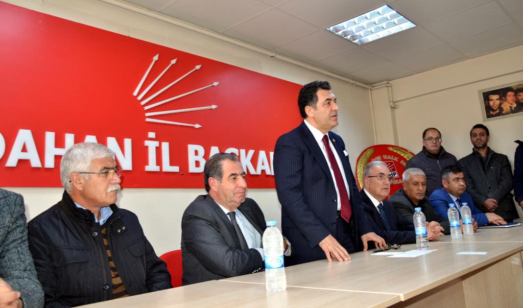 CHP Ardahan'da tek yürek, tek yumruk