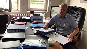 Halil Aras, CHP'den adaylığını açıkladı