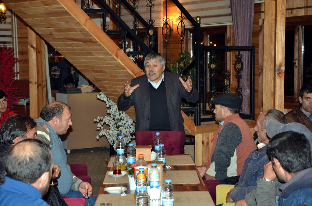 Hanak'ta Necat Tuna heyecanı