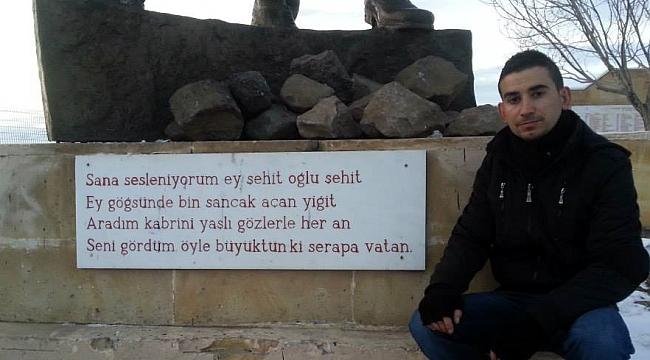 Hanaklı genç, Kars'ta intihar etti!