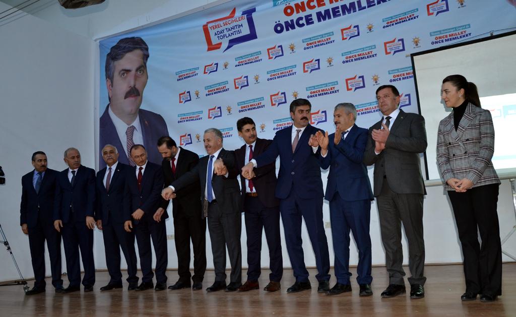 AK Parti Ardahan'da start verdi