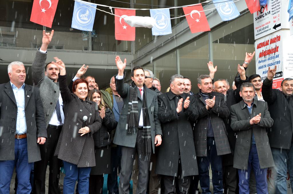 Halil Kaçar, Ardahan'ı salladı