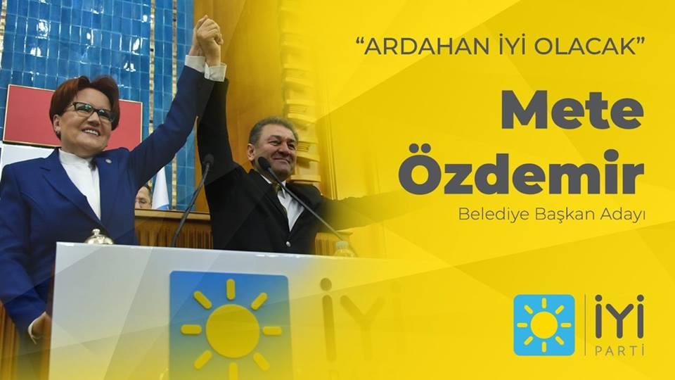İYİ Parti Mete Özdemir'i karşılayacak