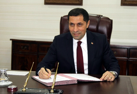 Yeni Vali Mustafa Masatlı, görevine başladı