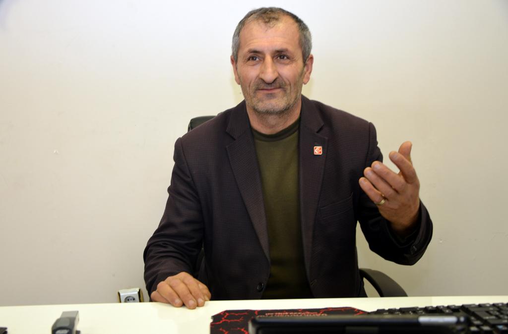 CHP'li Sabahattin Polat, DSP'den aday oldu