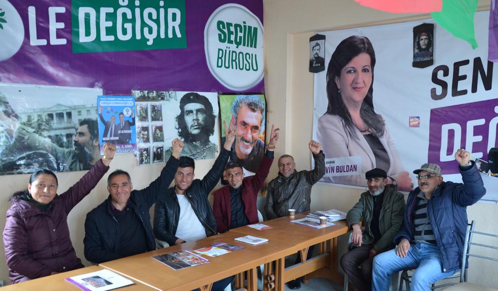 CHP'NİN KALESİ DAMAL'DA HDP İDDİALI!
