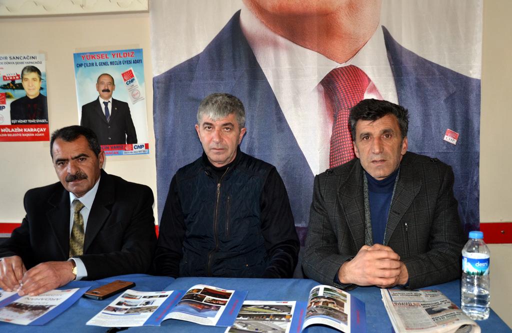 ÇILDIR CHP, EMANETİ GERİ ALACAĞIZ!