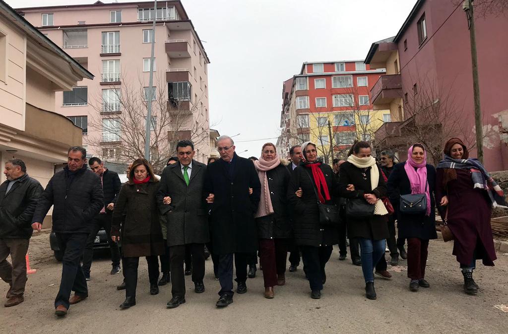 ÖĞÜT VE YİĞİT'TEN FARUK DEMİR'E DESTEK ZİYARETİ