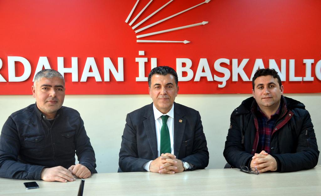 FARUK DEMİR, ARDAHAN'LA GURUR DUYUYORUM
