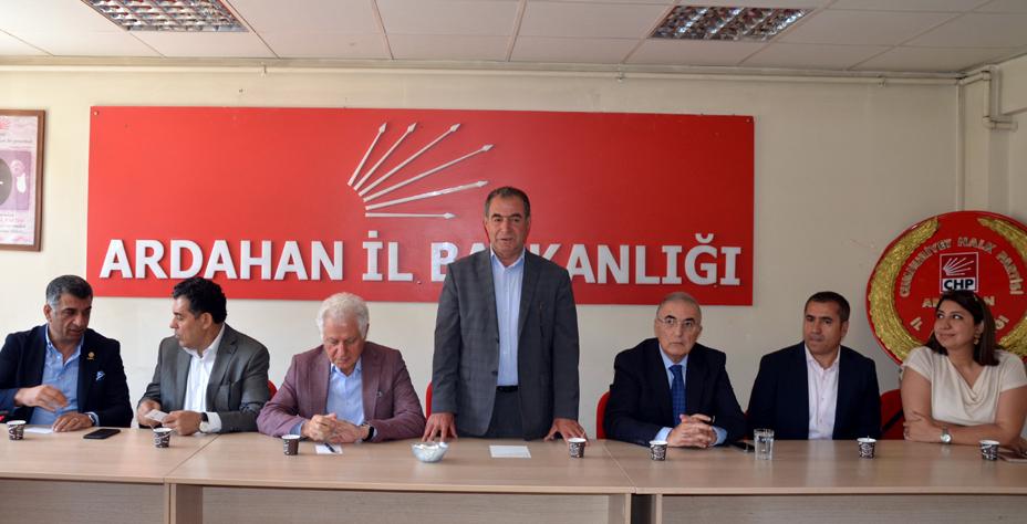 CHP'den Ardahan'a büyük çıkarma