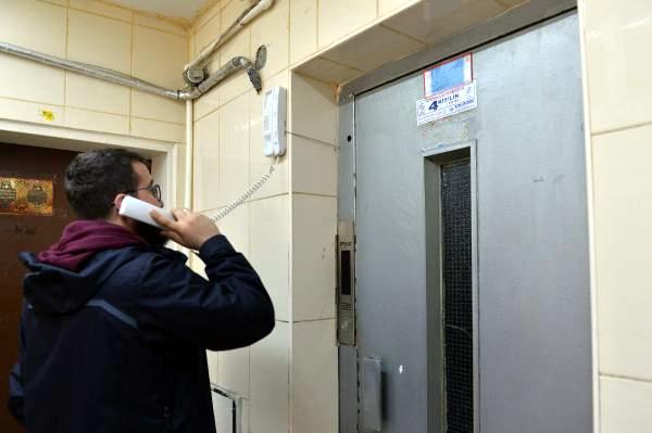 Asansörler alarm veriyor