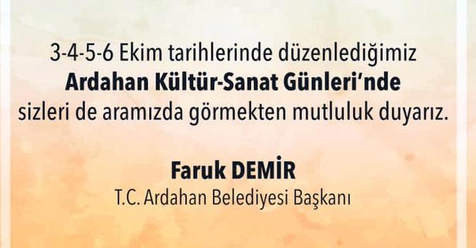 Türkiye, Ardahan'da buluşacak