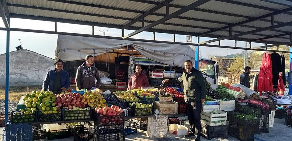 Köprülü'de Semt Pazarı açıldı