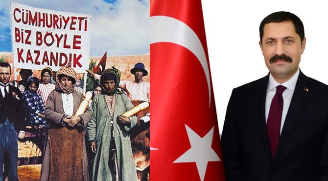 Vali Masatlı, Cumhuriyet en iyi idaredir!