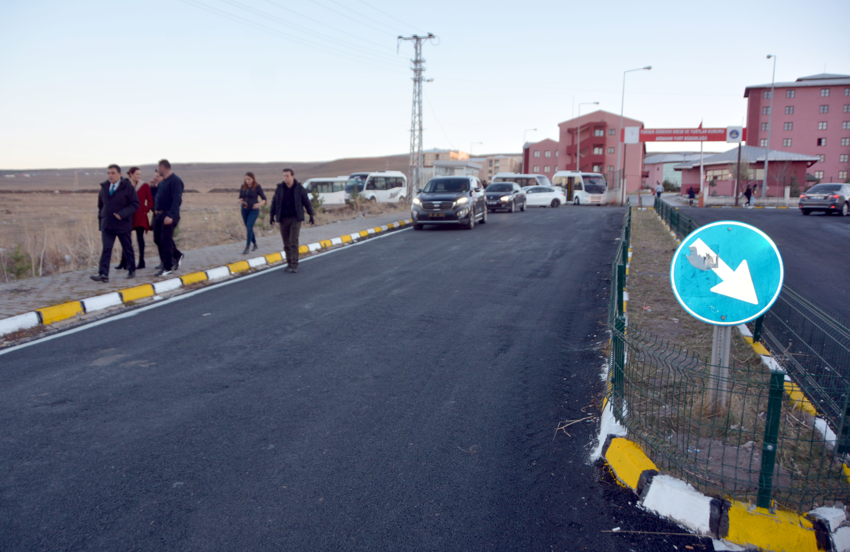 Çile bitti, hastane yolu yenilendi