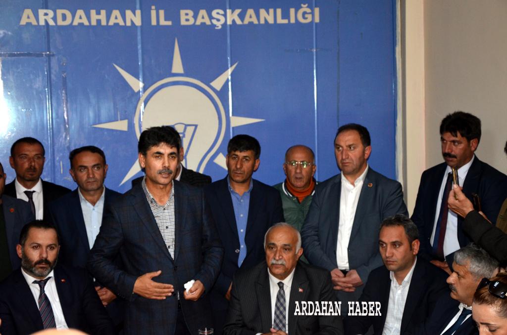 Teşkilatlardan Atalay'a tam destek
