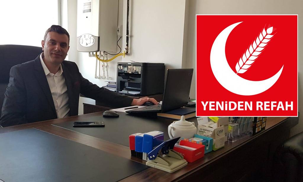 Yeniden Refah Partisi Ardahan İl Başkanı belli oldu