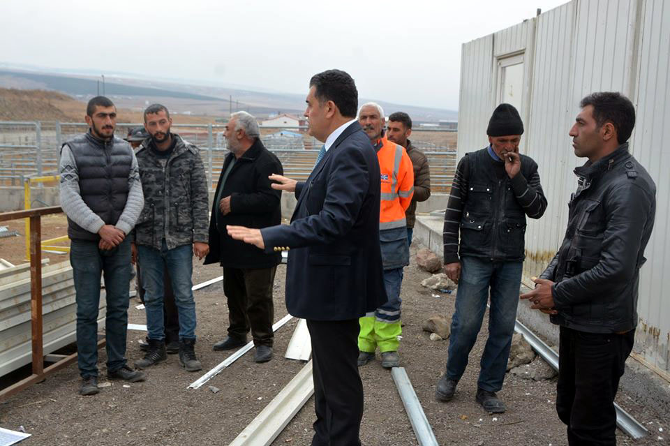 Başkan Demir, denetime çıktı