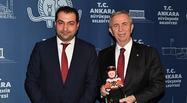 TAŞTAN: BAŞKAN YAVAŞ'A, ARDAHAN'I ANLATTI