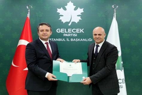 GELECEK PARTİSİ VEYSEL KARATAY'A EMANET